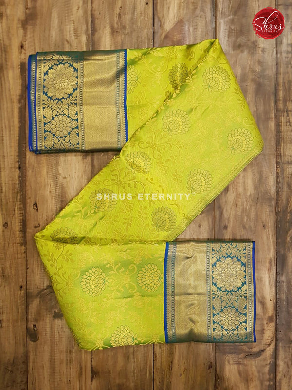 Green & Blue  - Kanchipuram Silk