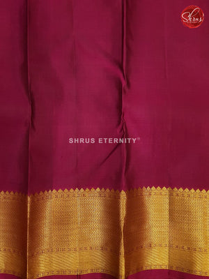 Green & Purple - Kanchipuram Silks - Shop on ShrusEternity.com