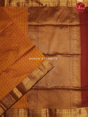Orange &Brown - Kora Cotton