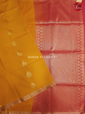 Yellowish Orange & Red - Kora Cotton