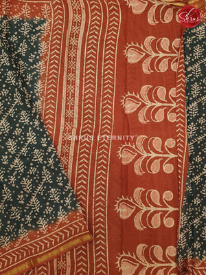 Black & Brown - Jaipur Cotton