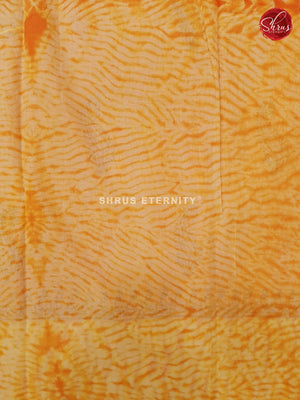 Orange & Yellow - Jaipur Cotton