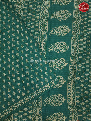 Green (Single Tone) - Jaipur Cotton