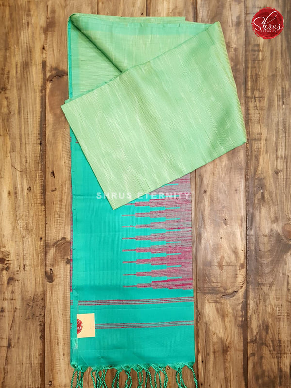 Sea Green & Green  - Soft Silk
