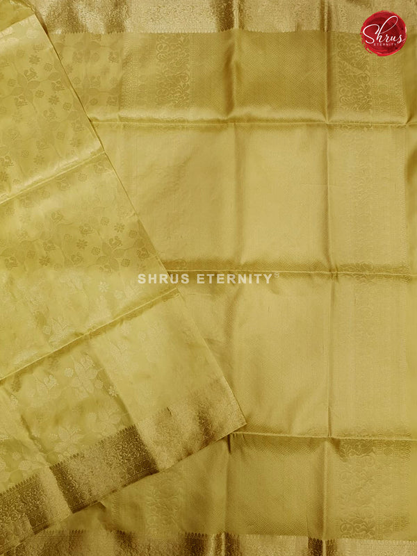 Mild Lemon Yellowish Green (Single Tone) - Soft Silk