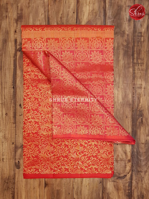 Orange & Red -  Soft Silk