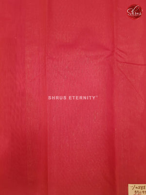 Orange & Red - Silk Cotton - Shop on ShrusEternity.com