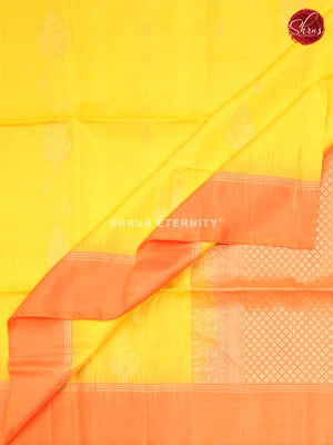 Bold Yellow & Orange -  Soft Silk