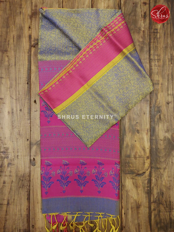 Grey & Pink - Kota Silk - Shop on ShrusEternity.com