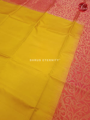 Yellow & Mild Red - Soft Silk - Shop on ShrusEternity.com