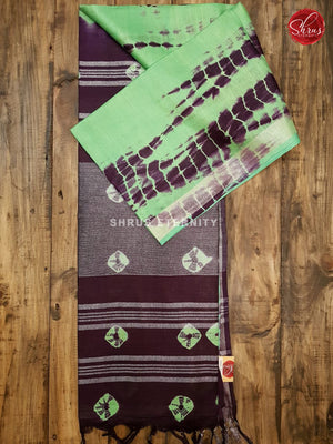 Pista Green & Black - Shibori - Shop on ShrusEternity.com
