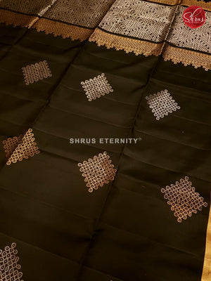 Black (Single Tone)  - Soft Silk - Shop on ShrusEternity.com