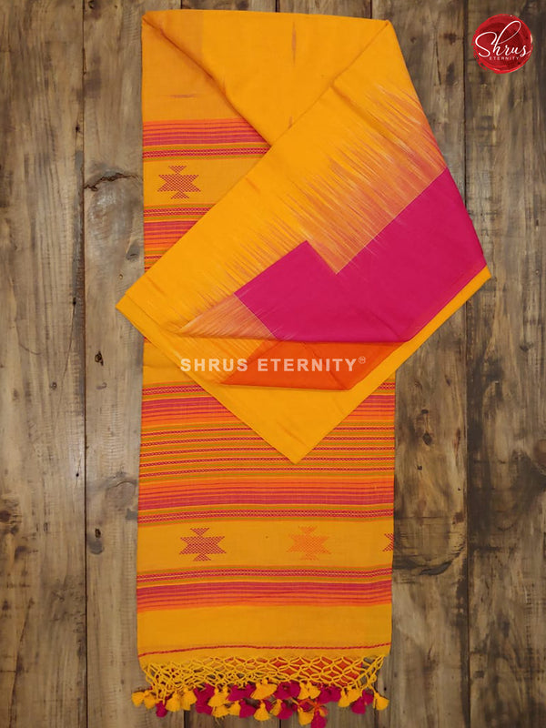 Yellow & Pink - Bengal Cotton - Shop on ShrusEternity.com