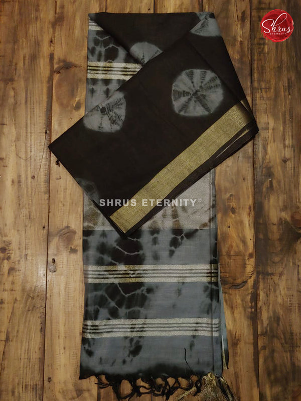 Black & Grey - Shibori
