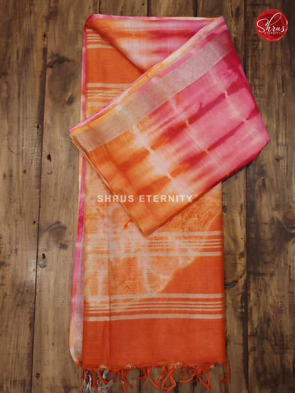 Pink & Orange - Shibori - Shop on ShrusEternity.com