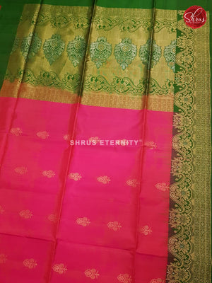 Pink & Green - Soft Silk - Shop on ShrusEternity.com