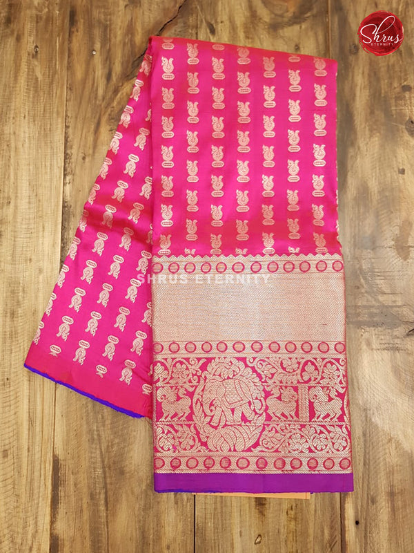 Violet & Pink - Pattu Pavadai 3- 6 Years - Shop on ShrusEternity.com