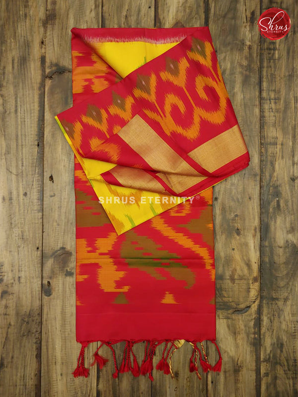 Yellow & Red - Soft Silk - Shop on ShrusEternity.com