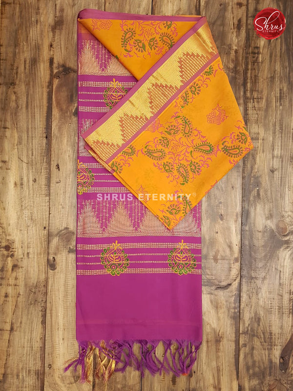 Mustard & PUrple - Semi Silk - Shop on ShrusEternity.com