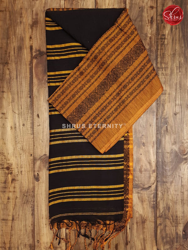 Black & Mustard - Bengal Cotton - Shop on ShrusEternity.com