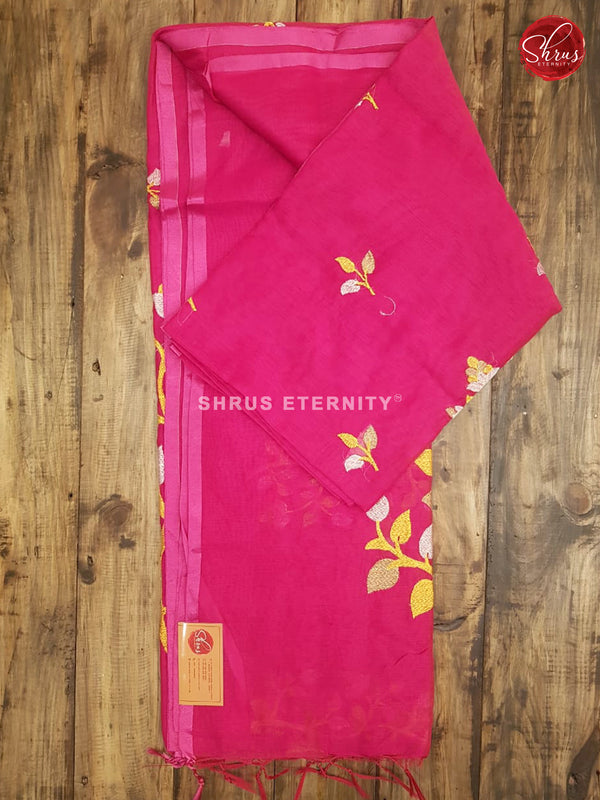 Pink (Single Tone) - Bengal Cotton