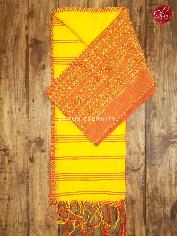 Yellow & Red -  Bengal Cotton
