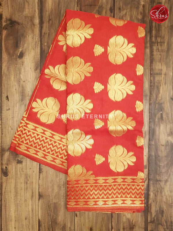 Red(Single Tone) - Bengal Cotton