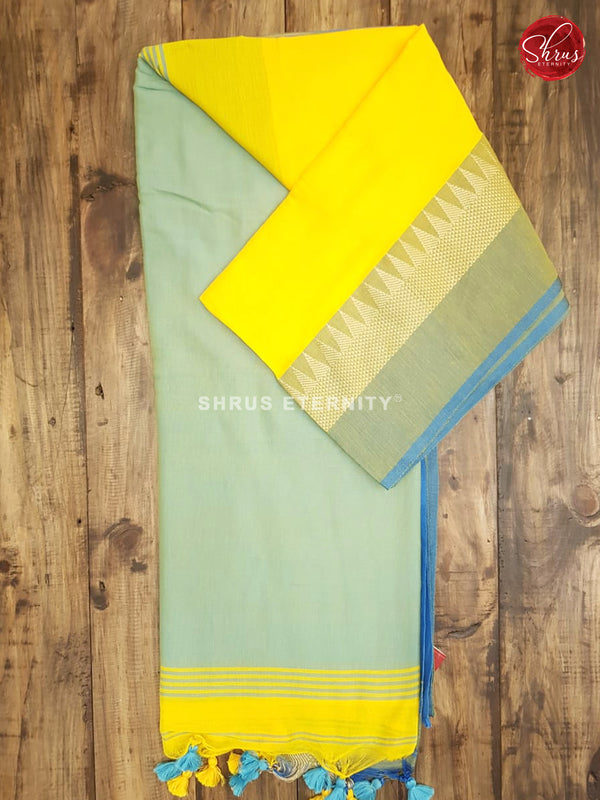 Yellow & Blue - Bengal Cotton