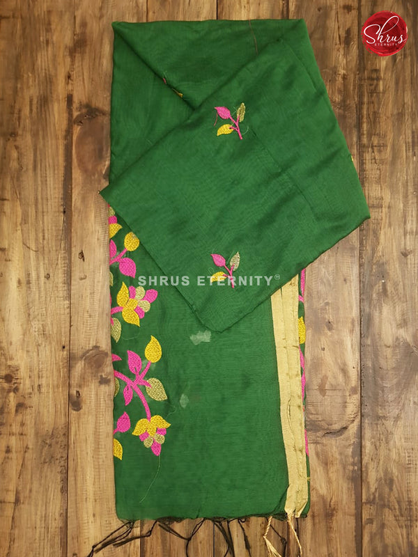 Green (Single Tone) - Bengal Cotton