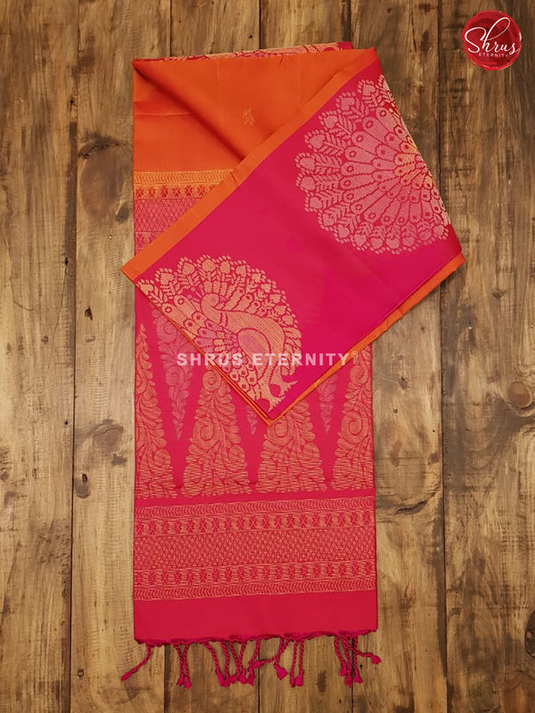 Orange & Pink - Soft Silk