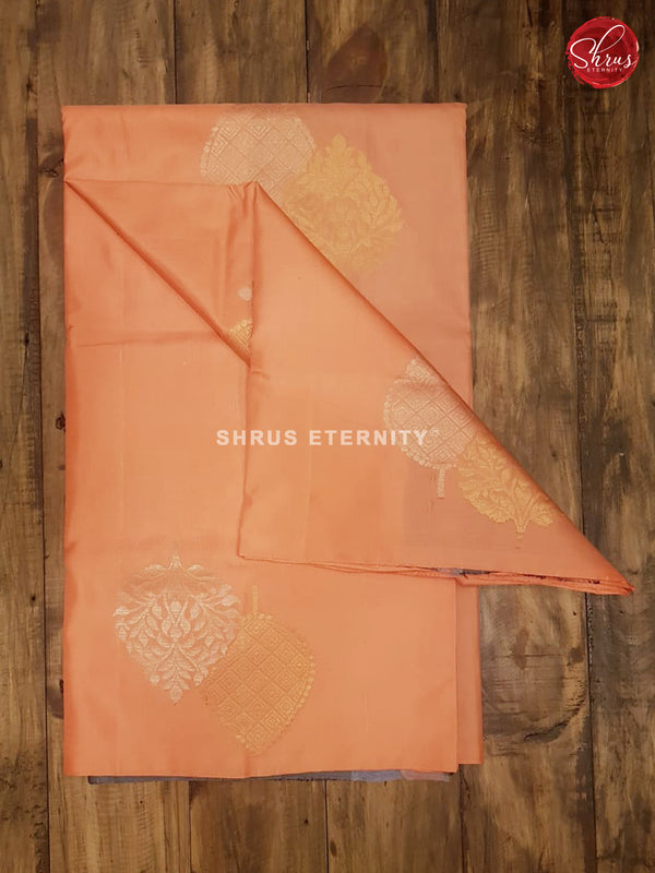 Peach & Grey - Soft Silk