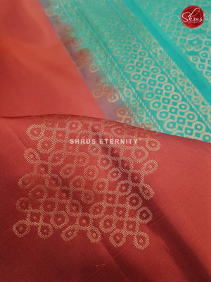 Onion Pink & Sea Green - Soft Silk
