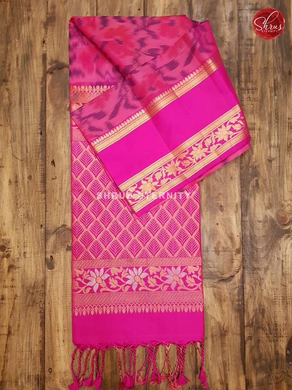 Dark Pink (Single Tone)  - Soft Silk