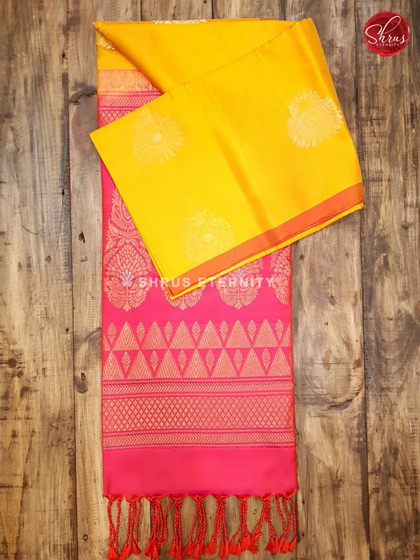 Yellow & Pink  - Soft Silk