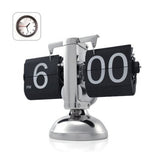 Black Retro Flip Down Clock-Internal