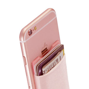 Phone Adhesive Fashion ID Credit Card Holder TOP SELLING
