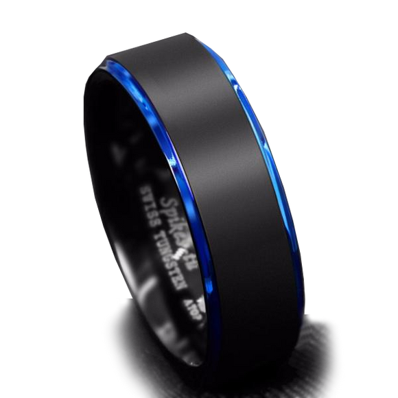 Perfect Blue/Black Ring Combination   HOT SELLING 2018