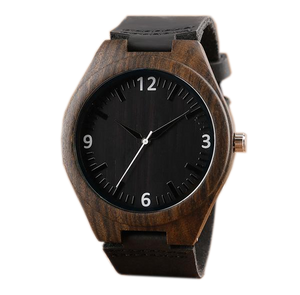 Black Mens Creative Wood Watch