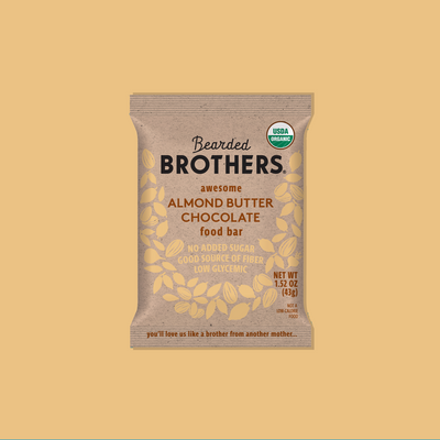 Awesome Almond Butter Chocolate - Bearded Brothers