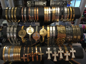 Religious Bangles and Bracelets Stainless Steel