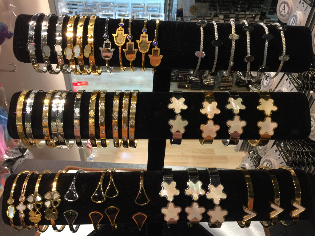 Bangles and Bracelets with Hamsha Styles