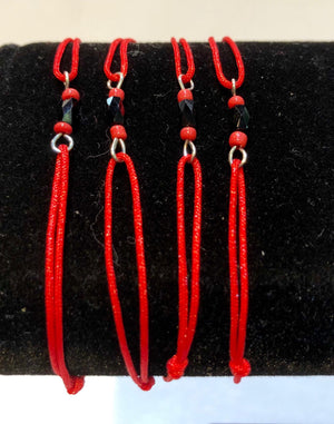 Azabache cord for Protection against evil eye