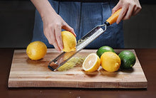 Load image into Gallery viewer, Deiss PRO Citrus Lemon Zester & Cheese Grater