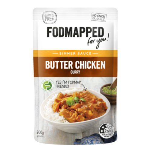 FODMAPPED Butter Chicken Simmer Sauce (200g)