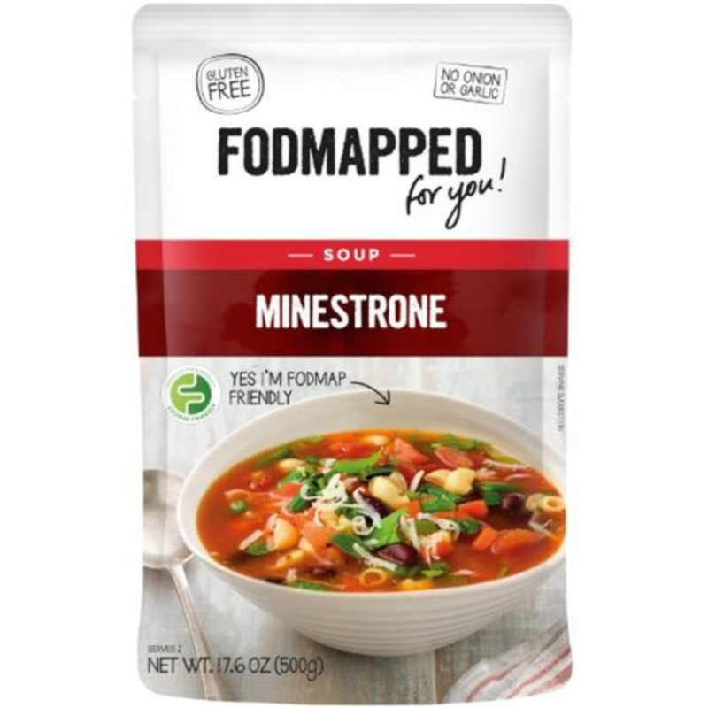 FODMAPPED Minestrone Soup (500g)