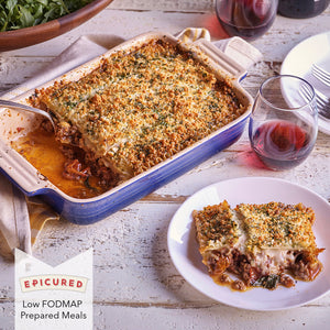 Prepared Meal: Baked Lasagna Bolognese