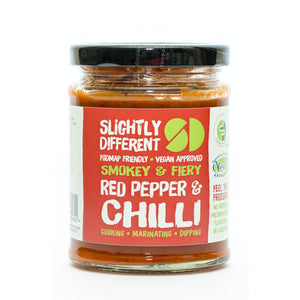 Slightly Different Red Pepper & Chilli Sauce