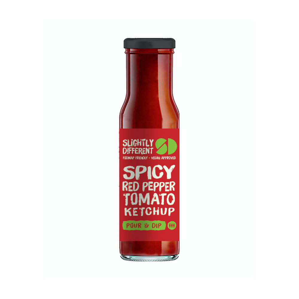 Slightly Different Spicy Red Pepper Tomato Ketchup