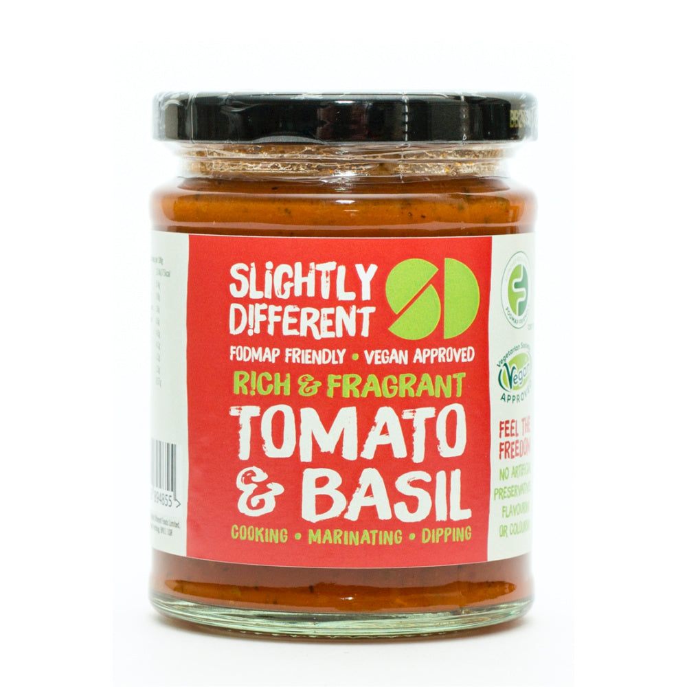 Slightly Different Tomato Basil Sauce
