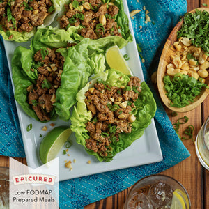 Prepared Meal: Hawker Lettuce Wraps with Chicken